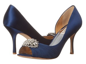 Badgley Mischka Wedding blue Pumps
