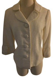 Merona Tweed cream Blazer