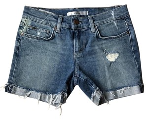 JOE'S Jeans Cut Off Shorts Distressed blue denim