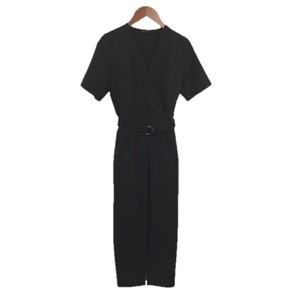 Topshop Belted Jumpsuit Pleated Dress