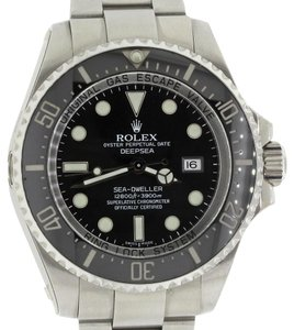 Rolex Rolex DEEPSEA Sea-Dweller 116660 Steel Ceramic Engraved Dive Watch