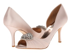 Badgley Mischka Wedding Jewelry Clearance Light pink Pumps