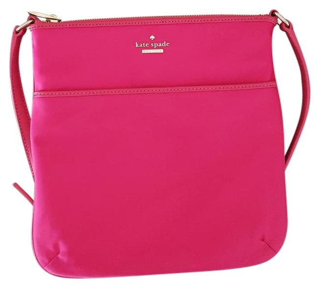 Item - New York Classic Joni Sweetheart Pink Nylon Cross Body Bag