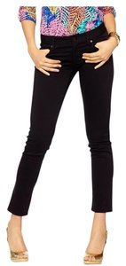 Lilly Pulitzer New Jeans Never Worn Sateen Skinny Pants Black