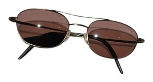 Oliver Peoples OLIVER PEOPLES 751016 BROWN METAL FRAME BROWN LENS SUNGLASSES