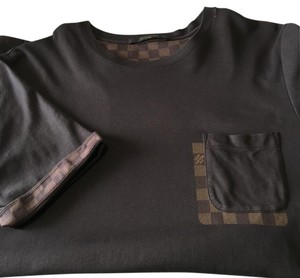 Louis Vuitton Damier Ebene Cotton Neverfull T Shirt Brown