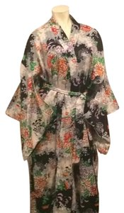 Oriental silk robe Dress