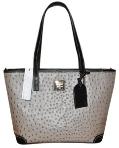 Dooney & Bourke Charleston Leather Tote in Grey