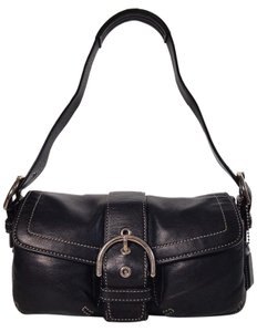 Coach Leather Small Pockets Shoulder Bag