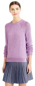 J.Crew Metallic Casual Crewneck Sweater