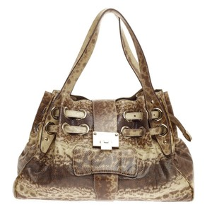 Jimmy Choo Snakeskin Hobo Bag