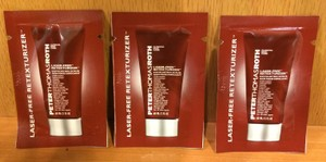 Peter Thomas Roth PETER THOMAS ROTH LASER-FREE RETEXTURIZER EXFOLIATING SCRUB ** ( 11 SAMPLE PACKS ) **