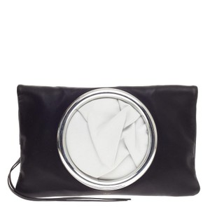 Cline Celine Leather Black Clutch