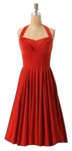 Anthropologie Retro Party Holiday Dress