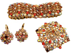 Joan Rivers Joan Rivers Bracelet Pin Earrings Set