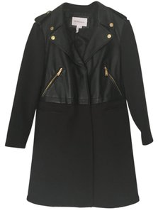 BCBGeneration Perfect For Fall Moto Trench Trench Coat