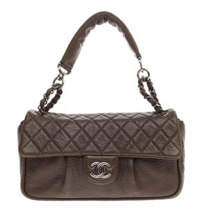 Chanel Leather Satchel in Brown