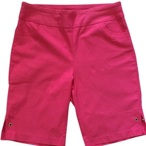 Tribal Bermuda Shorts Hot pink