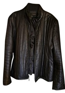 Colebrook & Co. black Leather Jacket