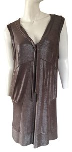 Marc Jacobs short dress Metallic on Tradesy