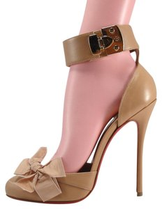 Christian Louboutin Louboutin Fetish Fetish Heels 120mm 40 nude Pumps