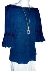Lirome Boho Organic Resort Cottage Chic Tunic