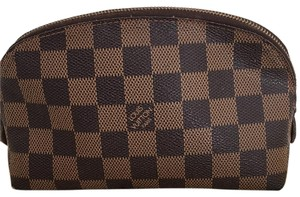 Louis Vuitton Authentic USED Louis Vuitton Damier Ebene Cosmetic Pouch with dustbag