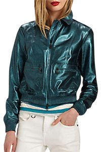 Burberry Military Leather Motorcycle Jacket