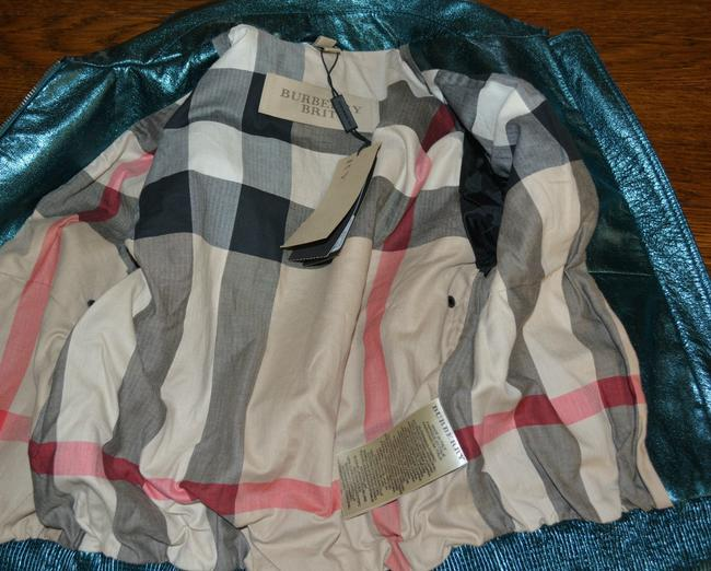 Burberry Military Leather Motorcycle Jacket Image 10