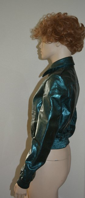 Burberry Military Leather Motorcycle Jacket Image 3