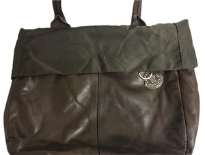 Moncler Soft Leather Shoulder Bag