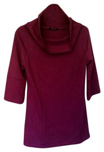 BCBGeneration Tunic Designer Long Tall Top Plum
