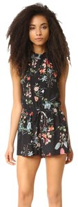Rebecca Taylor Silk Romper Flower Dress