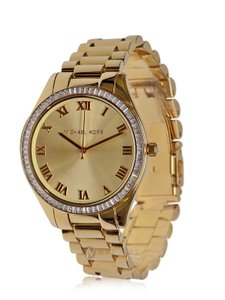 Michael Kors BRAND NEW WOMENS MICHAEL KORS (MK3244) BLAKE GOLD TONE CRYSTAL WATCH