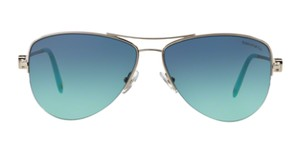 Tiffany & Co. Tiffany & Co 3021 Sunglasses TF3021 Color Silver 60029S Authentic New