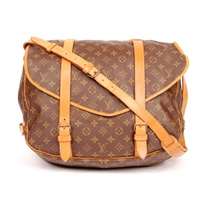 Louis Vuitton Saumur 43 Brown Messenger Bag