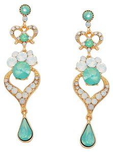 Rhinestone Crystal Opal Earrings