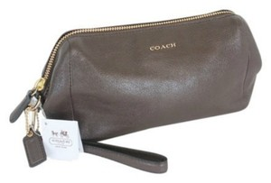 Coach Wristlet in Midnight Oak ~ Brown