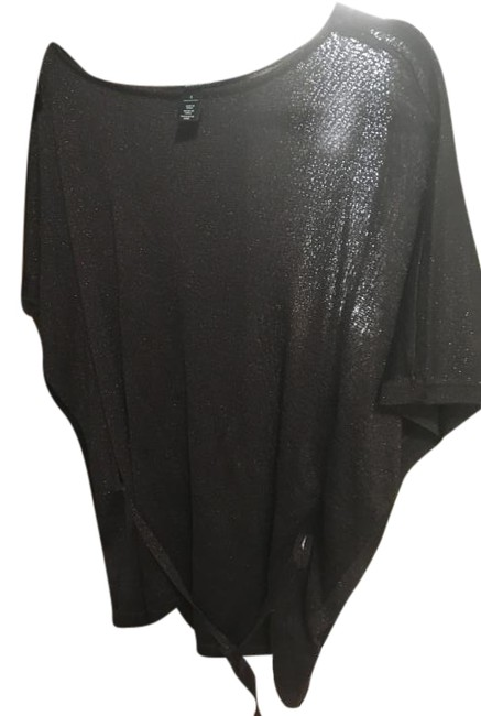 Item - Brown with Gold Sparkle Blouse Size 6 (S)