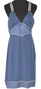 Catherine Malandrino short dress Blue on Tradesy