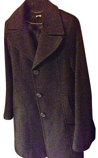 Preload https://item4.tradesy.com/images/dkny-charcoal-gray-wool-size-6-s-1986713-0-0.jpg?width=400&height=650