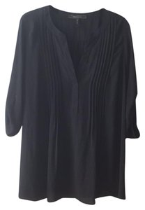 BCBGMAXAZRIA Pleated Maternity Blouse
