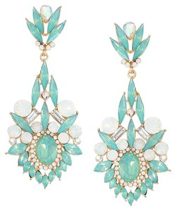 Other Rhinestone Crystal Opal Earrings