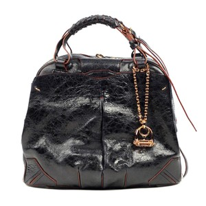 JT Italia Satchel in Black