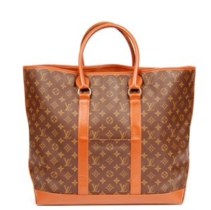 Louis Vuitton Vintage Sac Weekend Monogram canvas Travel Bag