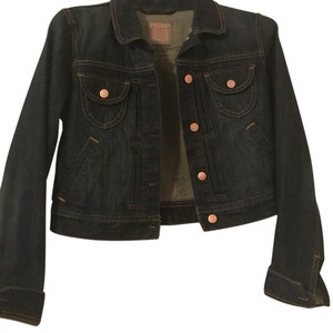 Old Navy Dark blue Womens Jean Jacket