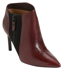 Via Spiga Leather Burgundy Boots