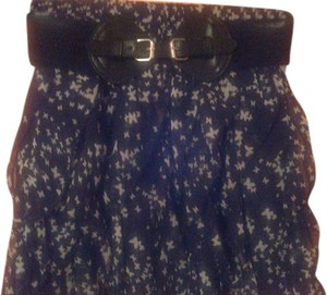 Wet Seal Butterfly Skirt Black & White