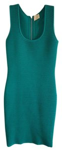 Torn by Ronny Kobo Scoop Neck Ribbed Dress