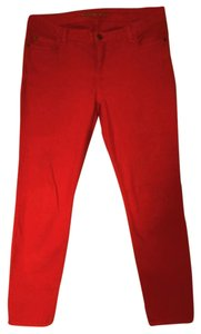 Michael Kors Skinny Pants True red